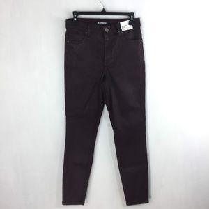 Express Ankle Legging High Rise Stretch Jeans